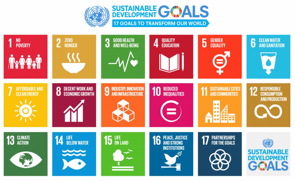 Sustainable development goal poster